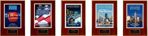 Dr. Gold has been selected as a Castle Connolly Top Doctor 2010-2015
