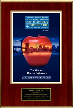Castle Connolly top doctor award 2015