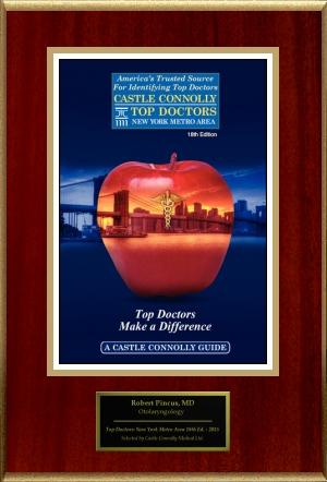 Castle Connolly top doctor award 2015