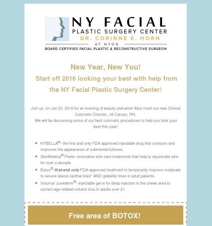 NY Facial Free Botox