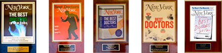 Dr Gold is NY Magazine Best Doctor