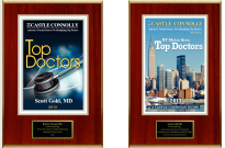 Scott-Gold-Best Doctors Placque